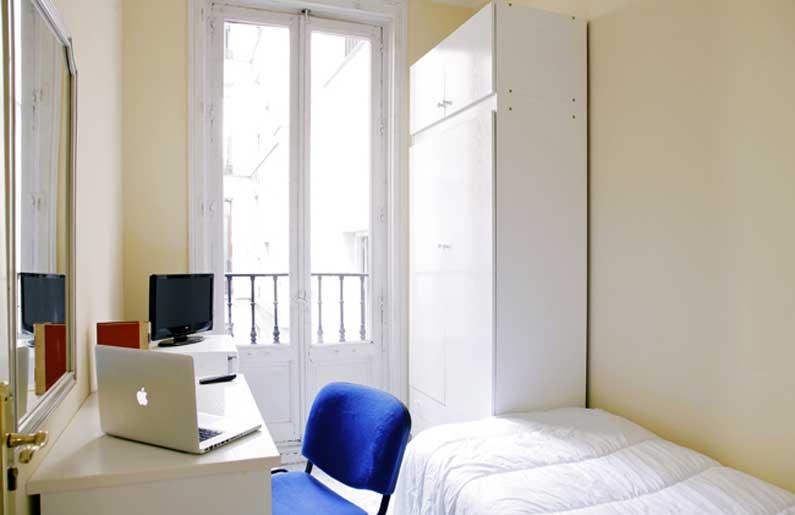 Imagen habitación 11 Arenal, 16 3º ext derecha alquiler habitaciones estudiantes Madrid centro