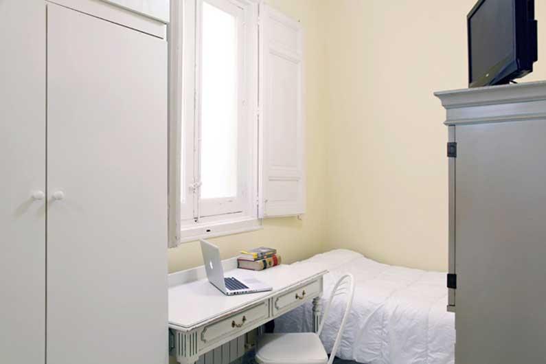 Habitaci n 12 alquiler estudiantes arenal 16 3ed madrid for Alquilar habitacion en murcia