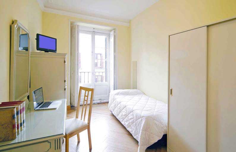 Imagen habitación 2 Arenal, 16 3º ext derecha alquiler habitaciones estudiantes Madrid centro