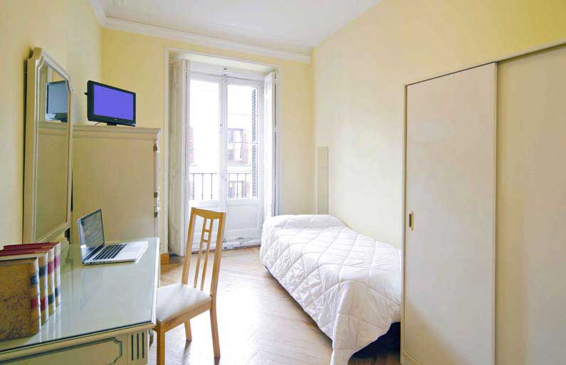 Habitaci n 2 alquiler estudiantes arenal 16 3ed madrid - Alquiler habitacion donosti ...