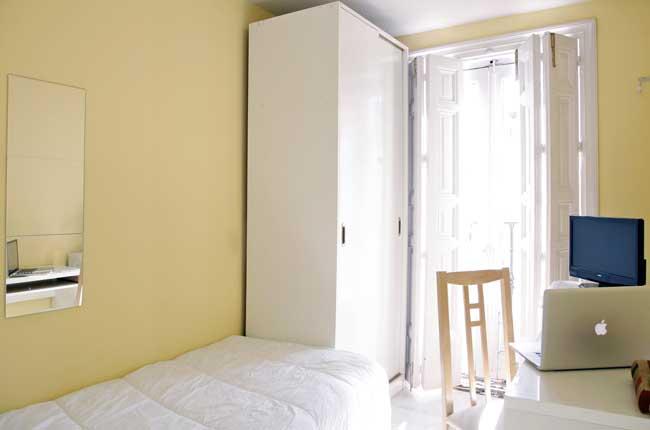 Imagen habitación 2 Arenal, 16 6º derecha alquiler habitaciones estudiantes Madrid centro