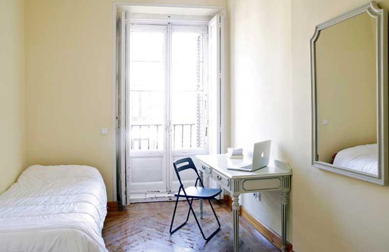 Imagen habitación 3 Arenal, 16 3º ext derecha alquiler habitaciones estudiantes Madrid centro