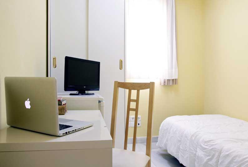 Imagen habitación 4 Arenal, 16 6º derecha alquiler habitaciones estudiantes Madrid centro