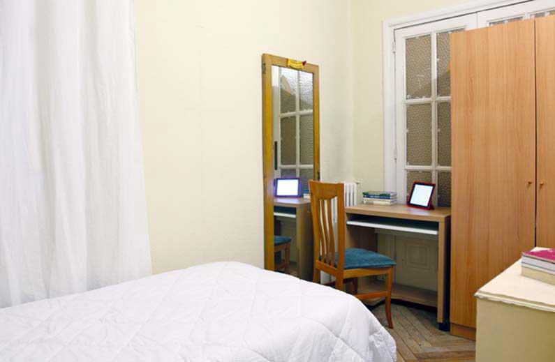 Imagen habitación 4 Salud, 17 2º derecha alquiler habitaciones estudiantes Madrid centro