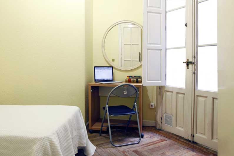 Imagen habitación 5 Salud, 17 2º derecha alquiler habitaciones estudiantes Madrid centro