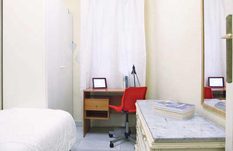 Imagen habitación 6 Salud, 17 2º derecha alquiler habitaciones estudiantes Madrid centro