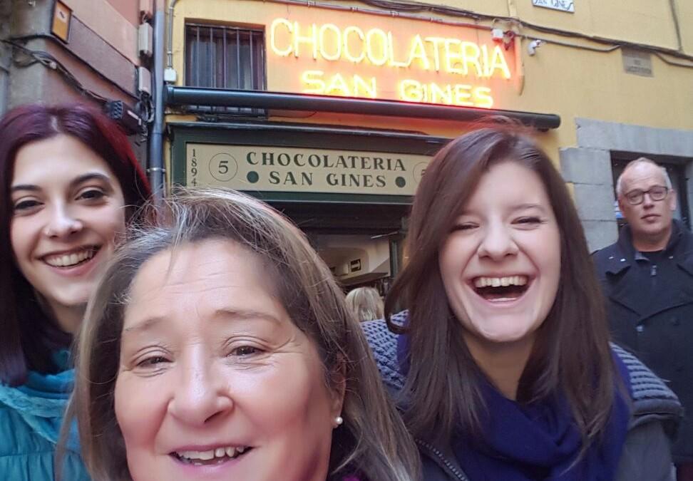 Encuentro con Giulia y Chiara