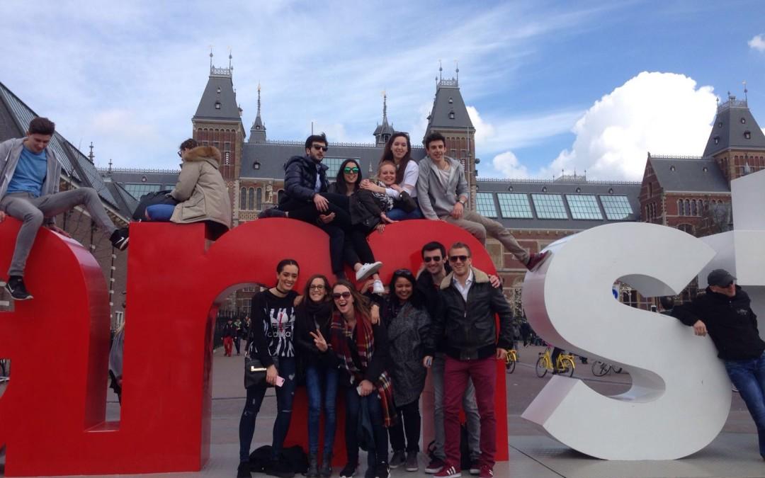 Fin de semana en Amsterdam los chicos de Arenal 16 3º  curso 2015
